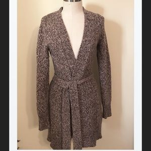 Old Navy Wool Blend Long Cardigan Sweater, S
